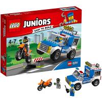 [当当自营]LEGO 乐高 Juniors小拼砌师系列 警车追击 积木拼插儿童益智玩具10735