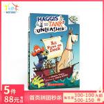 英文原版 Haggis and Tank Unleashed All Paws on Deck 狗狗坦克和哈吉斯1:不