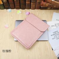 小米笔记本Air.5寸内胆包联想小新.3电脑包IdeaPad710S套 PU玫瑰粉 寸