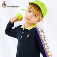 【3件3折券后�A估�r:91元】暇步士童�b男童Polo衫2020秋季新款����洋�獯笸�翻�I上衣�和�T恤