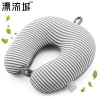 U型枕头护颈枕脖子颈椎枕午睡枕泡沫粒子办公室睡觉u形