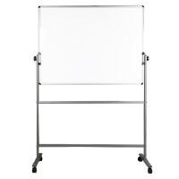 得力7883 办公教学磁性写字板 会议支架式双面画板白板 90*150cm(只限卖北京)