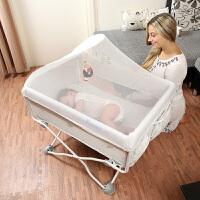 婴儿床便携式可折叠多功能床边床新生儿宝宝小床轻便可移动带蚊帐