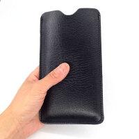 摩托罗拉rola Z3/e5 plus/P30 play青柚1s手机保护皮套壳包袋 6.01寸motorola Z3黑
