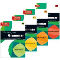 柯林斯攻破你的语法4册套装 英文原版书 Collins Work on Your Grammar A1 A2 B1 B