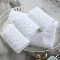 酒店洗脸帕纯棉小方巾四方小毛巾擦手巾柔软吸水可2条装