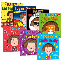 华研原版 鬼马精灵黛西6本套装 英文原版绘本 Daisy 吴敏兰书单 Kes Gray 创意教学 英文版儿童启蒙读物 进