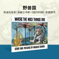 英文绘本 原版进口Where the Wild Things Are 野兽国 凯迪克金奖 [4-8岁]