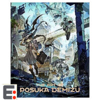 日本插画设计书籍 Posuka Demizu The Art of Posuka Demizu 日本画师 出水ぽすか