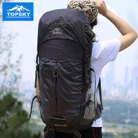 Topsky 登山包双肩包旅行包 户外背包旅游透气徒步背包 男女超大容量防泼水减负背包40L50L
