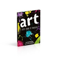 DK出版 艺术原理:儿童艺术入门 英文原版 Art and How it Works 7-12岁 精装 艺术进口书籍正版