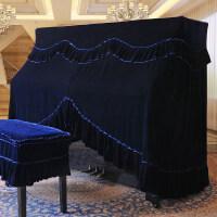 钢琴罩全罩半罩加厚丝绒欧式防尘罩全包钢琴披钢琴凳套