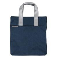 帆布包男女单肩包托特手提包购物袋14寸电脑包竖款休闲时尚公文包