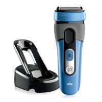 Braun/德国博朗CoolTec 冰感电动剃须刀 CT4s 可水洗 充电式 刮胡刀 1小时快充