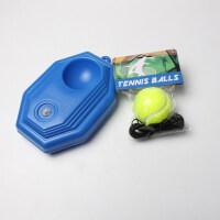 高弹带线网球练习器训练器底座单人回弹皮筋耐打耐磨甩甩球