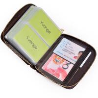 Yvongo韵歌商务卡包卡片包男款大容量多卡位卡套卡夹女式银行卡包*包名片夹名片本