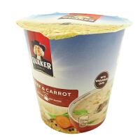 桂格(QUAKER)即食冲调燕麦片 28g 杯装 多种味可选 马来西亚进口膳食纤维 方便速食燕麦粥