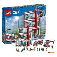 当当自营 乐高LEGO城市组City系列60204乐高?城市医院
