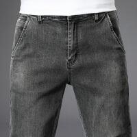 【2折预估到手价:89叠券更优惠】罗蒙夏季薄款牛仔裤直筒修身小脚裤