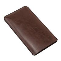 飞利浦20000毫安移动电源 充电宝保护套收纳包 整理袋 路易棕 单层