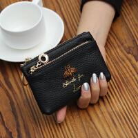 欧美新款时尚潮真皮零钱包女迷你小钱包女式牛皮钥匙包硬币手机包