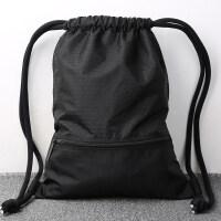 束口袋抽绳双肩包男女通用户外旅行背包轻便折叠运动健身包袋