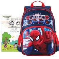 迪士尼书包小学生男童1-3年级蜘蛛侠可爱大容量男孩儿童双肩背包
