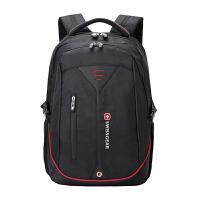 瑞士军刀 双肩包潮流男款背包书包中学生初中生包包15.6寸电脑包