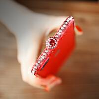 iphone6S水钻金属边框苹果7plus镶钻手机壳套满钻i8带钻闪耀女6sp高档8p