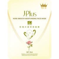 静佳Jplus 玫瑰水凝4D保湿瘦脸面膜