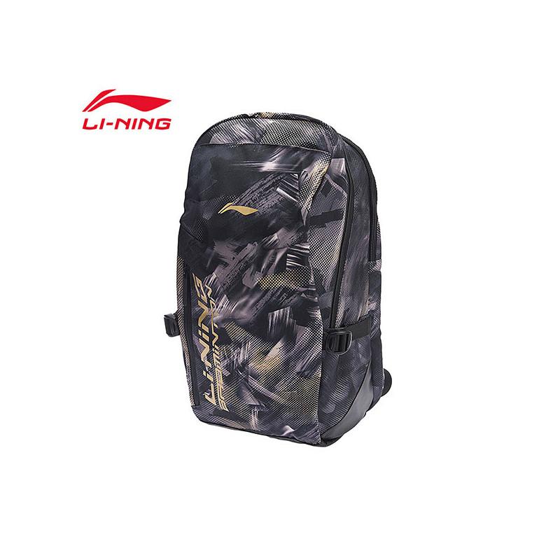 李宁双肩包男包女包新款羽毛球系列背包学生书包运动包ABSN296 专柜新款