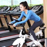 新款女士健身房紧身服跳操显瘦瑜珈衣 跑步运动裤速干瑜伽服套装女