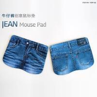 游戏鼠标垫/办公鼠标垫(牛仔裤图案鼠标垫) 加厚布面,舒适手感,使用顺滑流畅 actto安尚韩国品牌