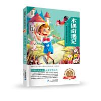 新课标小学语文阅读丛书:木偶奇遇记(彩绘注音版) 卡洛.科洛迪 9787556825868