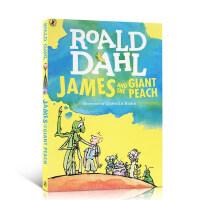 【全店300减110】英文原版 James and the Giant Peach詹姆斯与大仙桃 罗尔德达尔 飞天巨桃历