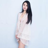 性感睡衣女士夏火辣蕾丝情趣内衣服激情套装睡裙透明薄纱透视