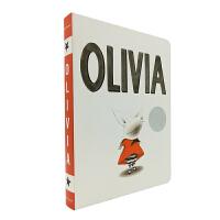Olivia 纸板书 奥莉薇 凯迪克银奖 吴敏兰绘本