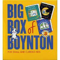 【现货】英文原版 Big Box of Boynton Set 1! Sandra Boynton音乐绘本套装1