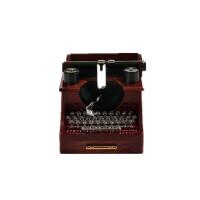 创意 打字机音乐盒复古八音盒首饰盒摆件送长辈女生母亲节礼物