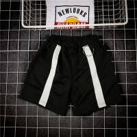 夏季宽松运动短裤男士直筒五分裤沙滩裤韩版男裤子马裤
