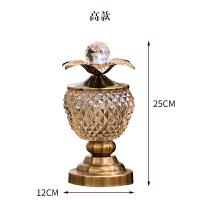 【优选】欧式美式酒柜装饰品摆件创意家居客厅茶几电视柜储物罐工艺品摆设