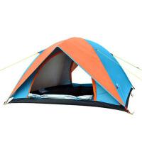 野外露营折叠自驾游户外钓鱼帐篷帐篷户外2人3-4人家庭