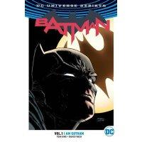 Batman: Volume 1: Gotham (Rebirth) DC宇宙重生:蝙蝠侠1:哥谭 英文原版漫画