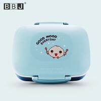 日式微波炉学生饭盒可爱儿童加热便当盒双层水果盒成人长方形餐盒