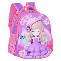 幼儿园书包女童3-6岁公主苏菲亚女孩宝宝学大班前班儿童双肩背包