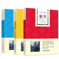 册高尔基三部曲正版包邮童年在人间我的大学书 成人青少年儿童文学小说外国世界名著 三四五六七八九年级初高中小学生必读课外