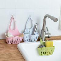 水槽塑料沥水篮 收纳挂篮厨房用品厨具置物架收纳架沥水架挂袋