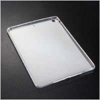 苹果iPad Air1保护套硅胶超薄平板电脑A1474简约透明防摔壳 +金属支架