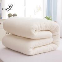 棉被冬季100%纯棉花被纯棉花被子新疆棉絮褥子冬季10斤全棉手工冬被被芯保暖加厚床垫被