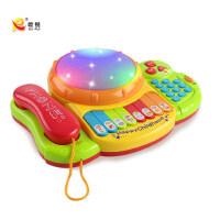 儿童宝宝玩具电话机手机1-2-3岁婴儿0-6-12个月早教益智仿真电话